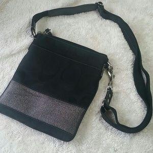 Coach Signature Cross Body Bag